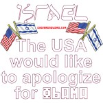 Israel - we apologize