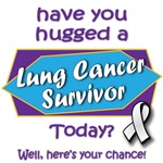 Have you hugged a Lung Cancer Survivor Today?