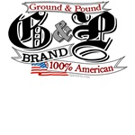 Ground & Pound - 100% American teeshirts