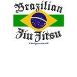 BJJ T-shirts - Brazilian flag jiu jitsu shirts