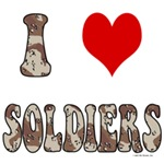 I Love (heart) Soldiers