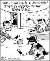 Cat in Penalty Litterbox