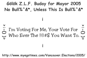 BUday for Mayor In 2005