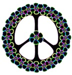Glowing Peace Design