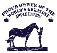 World's Greatest Apple Eater