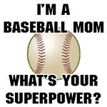 Baseball Mom Superhero