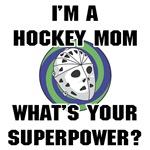 Hockey Mom Superhero