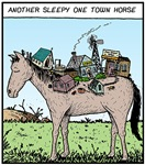 One town Horse