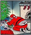 Santa's G-string