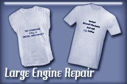 Large Engine Mechanics T-shirts and Gifts