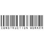 Construction Worker Bar Code