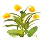 Atom Flowers #34