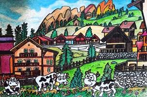 Tyroler Cows