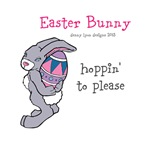 Funny Easter Bunny