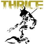 Thrice; The revengful yet benevolent minotaur God