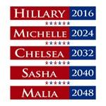 Hillary Clinton 2016 / Michelle Obama 2024