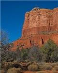 Courthouse Butte in Sedona, AZ 2024