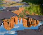 Red Rock Crossing Reflections 4156