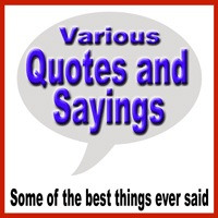 Various Quotes and Sayings
