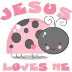 Ladybug Jesus Loves Me