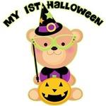 Bear Wizard 1st Halloween