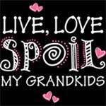Live Love Spoil Grandkids WHT