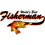 World's Best Fisherman Red
