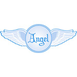 Angel Wings Blue