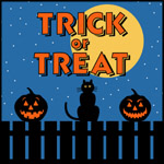 Trick or Treat Fence