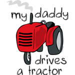 Daddy Drives A Tractor