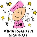 Cute Girl Kindergarten Grad 2011