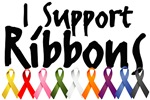 I Support Ribbons