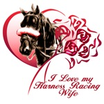 Love my Harness Racing Wife