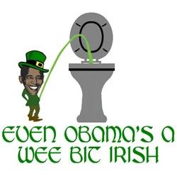 Obama's Irish shirts for Irish Obama fans
