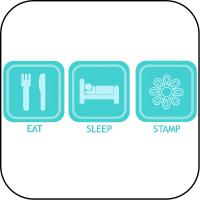 Eat, Sleep, Stamp