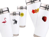 Ceramic and Stainless Travel Mugs