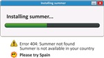 Installing Summer
