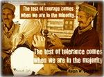 Test of Tolerance