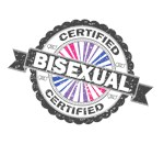 Certified Bisexual Stamp