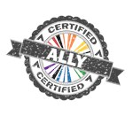 Certified LGBT Ally Stamp