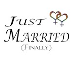 Just Married (Finally) Lesbian Pride