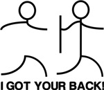 I got  your back!