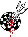Darts and blood