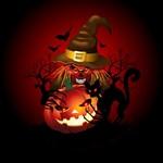 Skull Witch Creepy Halloween