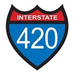interstate signs. (three designs)