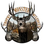 Monster mule deer painting