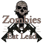 Zombies eat lead