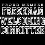 Freshman Welcoming Commitee (dark shirts)