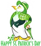 St. Patrick's Day Penguin