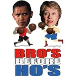 Obama Clinton - Bro's Before Ho's